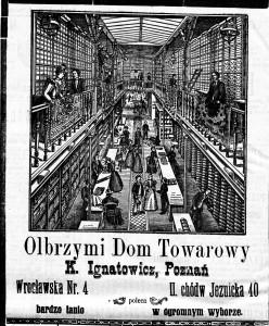 Goniec Wielkopolski,  22 grudnia 1897, nr 291