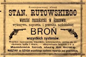 Tygodnik Rzeszowski, rok 1885, nr 1