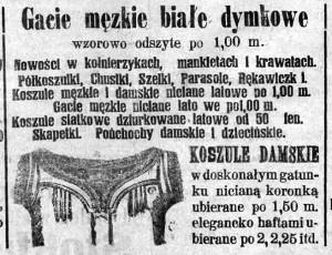 Postęp, rok 1899,  Nr22