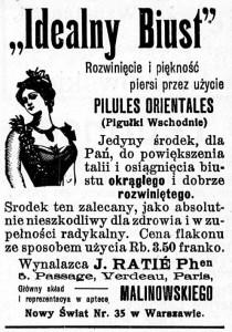 Tygodnik Illustrowany, rok 1907, nr 1
