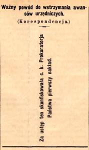 Urzędnik w Połączeniu z Prawnikiem, rok 1882, nr 10