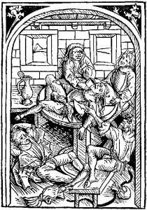Pijani studenci - Strassburg 1489.