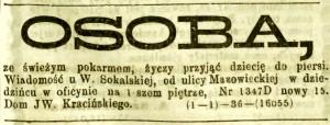 Kurjer Warszawski - 1870 nr. 2