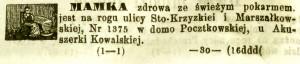 Kurjer Warszawski - 1870 nr 2