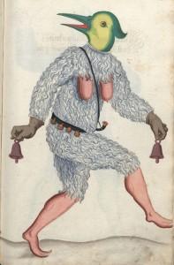 Universitätsbibliothek Kiel. Nürnberger Schembart-Buch, f.247. XVII wiek