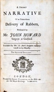 A Short Narrative of an Extraordinary Delivery of Rabbets