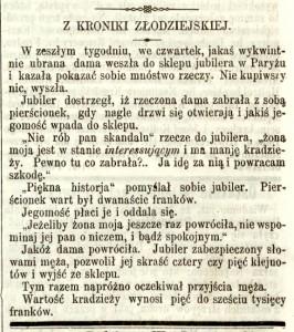 Kronika złodziejska (nr. 12)