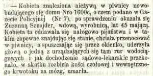 Martwa Zuzanna (nr. 18)