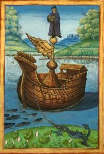 Bibliothèque nationale de France, Français 12247, f. 1v. Traité des vertus, de leur excellence, et comment on les peut acquérir. XVI wiek