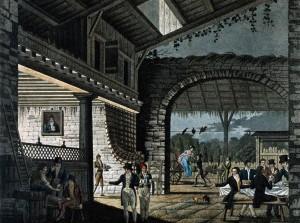 Angielska tawerna - początek XIX wieku