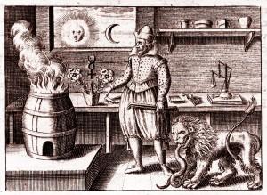 Dwunasty kamień Basila Valentina - Trious Aureus 1618 r.