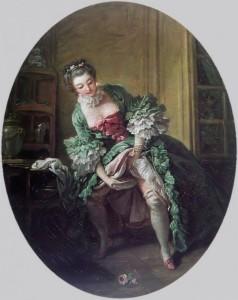 """Francois Boucher """"Bourdaloue"""" - około roku 1760"""