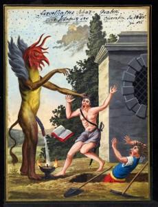 Compendium rarissimum totius Artis Magicae sistematisatae per celeberrimos Artis hujus Magistros. Anno 1057. Noli me tangere.