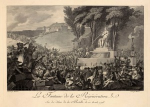 Charles Monnet - Fontanna Regeneracji - 1793.