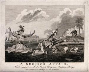 Straszliwy wypadek na wodzie z roku 1793 - Robert Sayer