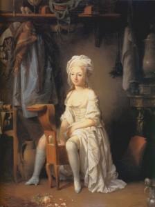 "Louis-Léopold Boilly ""La Toilette intime ou la Rose effeuillée"""