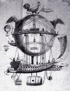 Fantazyjny pomysł na Balon autorstwa Robertsona